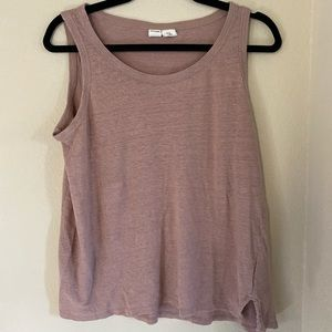 Artisan Ny Blush Sleeveless Medium Top